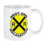 RR = Rest and Relaxation Mug