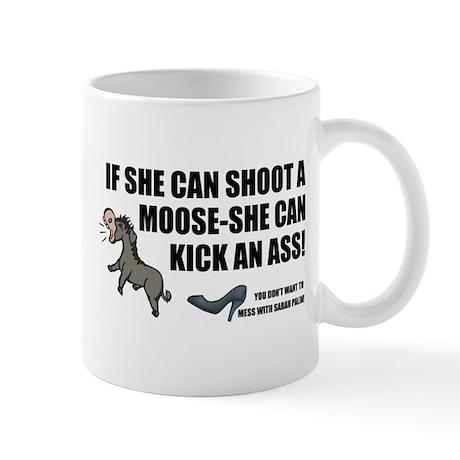 Palin-Ass Kicker Mug