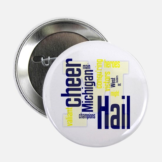 "Cute College football 2.25"" Button"