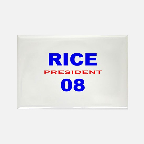Condi Rice, President, 08, Rectangle Magnet-3