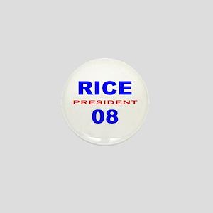 Condi Rice, President, 08, Mini Button-3