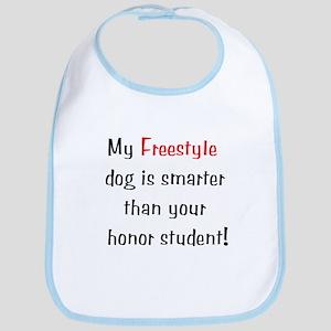 My Freestyle dog is smarter... Bib