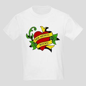 New Mexico Rocks! Kids T-Shirt