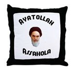 Ayatollah Assahola Throw Pillow