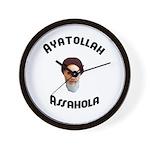 Ayatollah Assahola Wall Clock