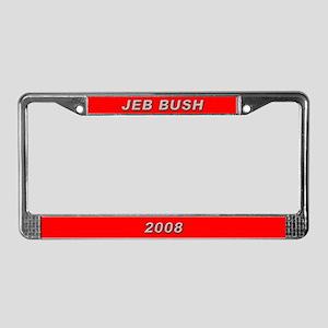 Jeb Bush License Plate Frame-3