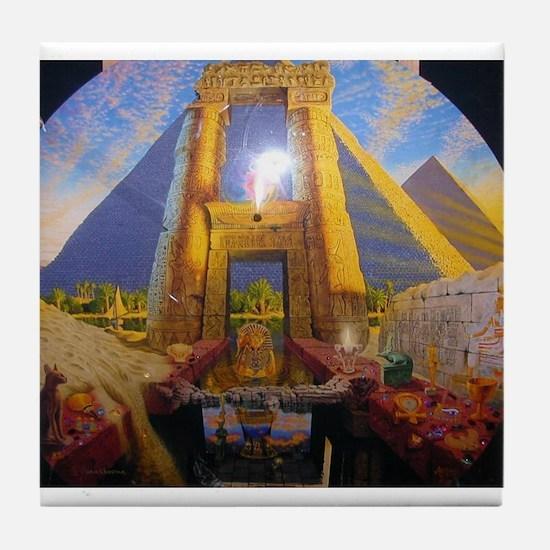 Andrew Annenberg's Egyptian E Tile Coaster