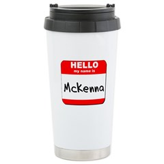 Hello my name is Mckenna Stainless Steel Travel Mu