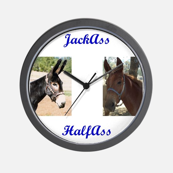 Cute Ass Wall Clock
