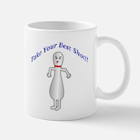 Jeering Bowling Pin Mug
