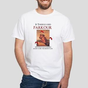 If Theseus Used Parkour T-Shirt