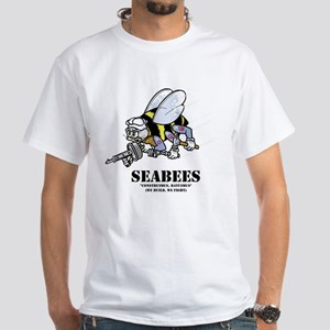 SEABEES White T-Shirt