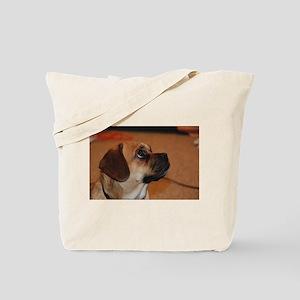 Dog-puggle Tote Bag