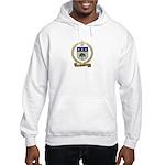 BRAULT Family Crest Hooded Sweatshirt