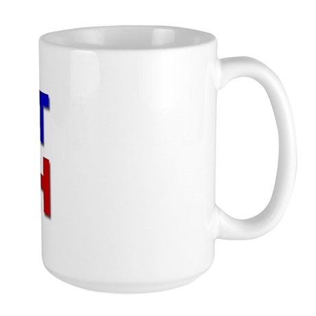 Evict Bush Large Mug