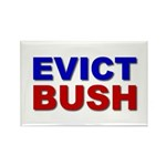 Evict Bush Rectangle Magnet (100 pack)