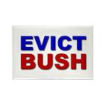 Evict Bush Rectangle Magnet