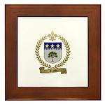 BRAUD Family Crest Framed Tile