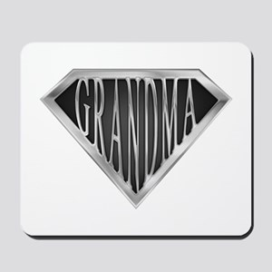 SuperGrandma(metal) Mousepad