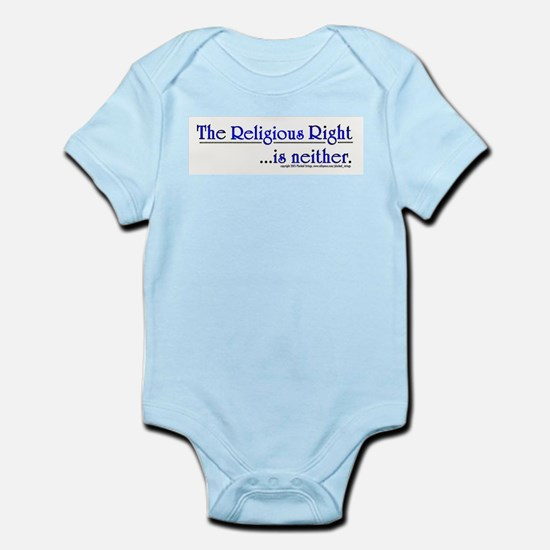 Religious Right is Neither Infant Creeper