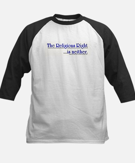 Religious Right is Neither Kids Baseball Jersey