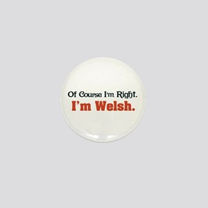 I'm Welsh Mini Button
