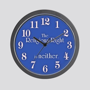 Religious Right is Neither Wall Clock