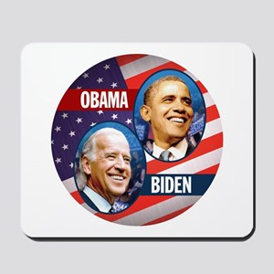 Obama Biden Flag Back G Mousepad