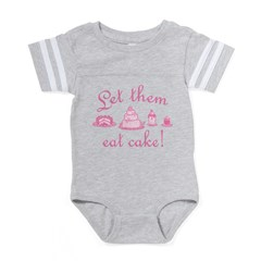 let-them-eat-cake_pk2 Baby Football Bodysuit