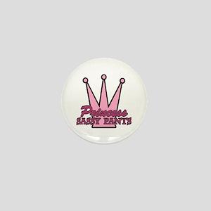 Princess Sassy Pants Mini Button