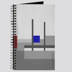 No Men's Land 459 Journal (Blue Square)