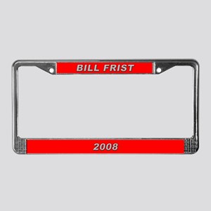 Bill Frist License Plate Frame-2