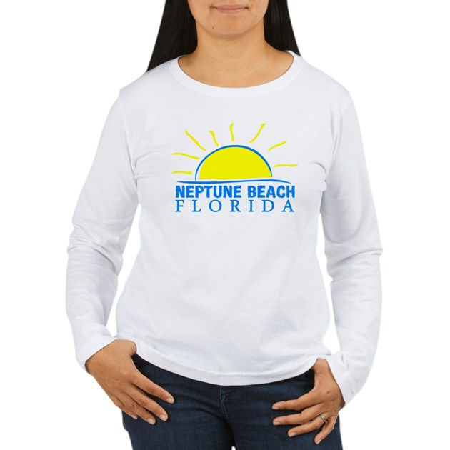 Houses For Sale In Neptune Beach Fl: Neptune Beach Women's Long Sleeve T-Shirt