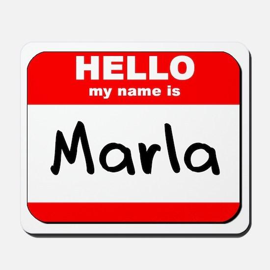 Hello my name is Marla Mousepad
