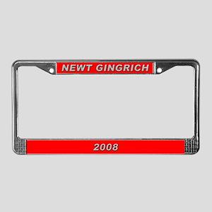 Newt Gingrich License Plate Frame-3