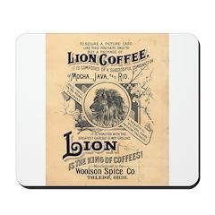 Lion Coffee Mousepad