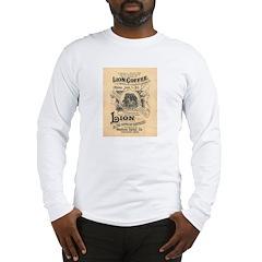 Lion Coffee Long Sleeve T-Shirt