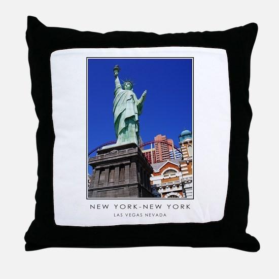 New York-New York S38a Throw Pillow