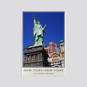 New York-New York S38a Rectangle Magnet