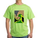 jamaika Green T-Shirt