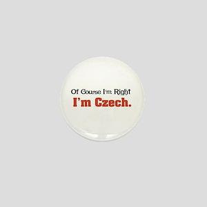 I'm Czech Mini Button