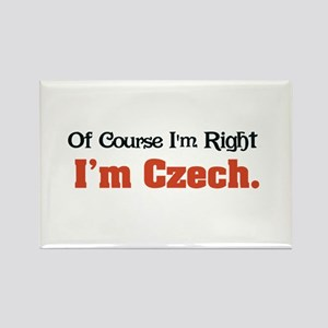 I'm Czech Rectangle Magnet