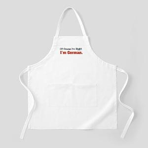 I'm German BBQ Apron