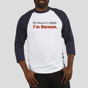 I'm German Baseball Jersey