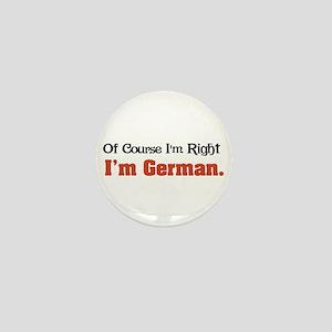 I'm German Mini Button