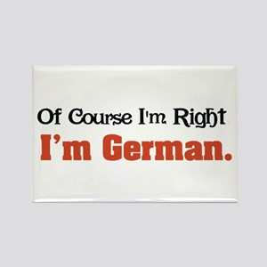 I'm German Rectangle Magnet