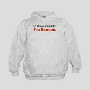 I'm German Kids Hoodie