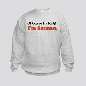 I'm German Kids Sweatshirt