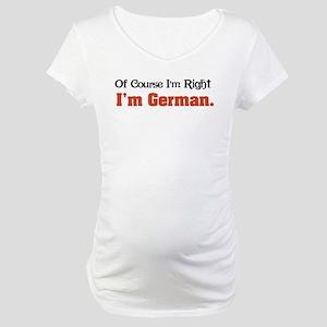 I'm German Maternity T-Shirt