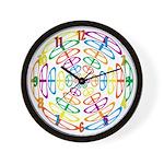 Peace Symbols Wall Clock